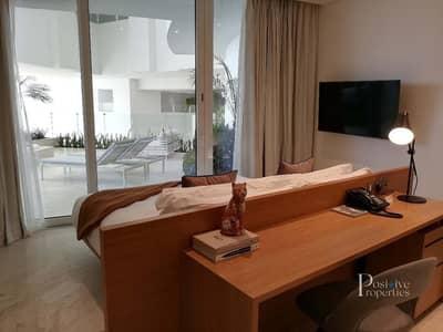 شقة 1 غرفة نوم للايجار في قرية جميرا الدائرية، دبي - High Floor | New | Jacuzzi | Marina View