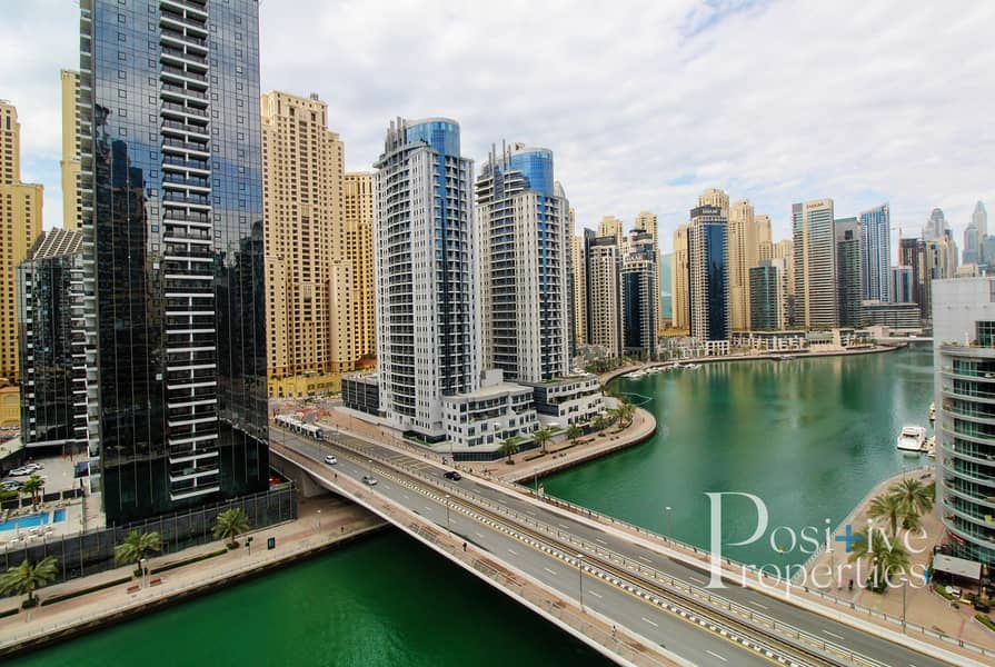 2 Stunning Marina View-Full Furnished-Great Location
