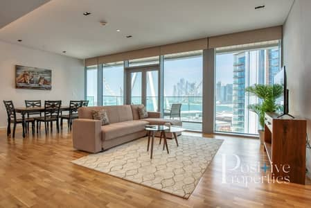 1 Bedroom Flat for Rent in Bluewaters Island, Dubai - Fully Furnished / JBR & Wheel View / Spacious