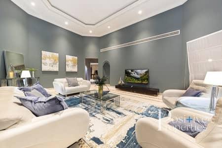 4 Bedroom Villa for Rent in Palm Jumeirah, Dubai - Marina View|Luxury Furniture|Beach Access
