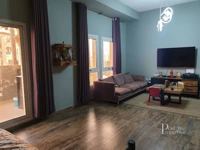 فلیٹ 1 غرفة نوم للبيع في رمرام، دبي - 1 Bed | Fully Upgraded | Balcony with Terrace