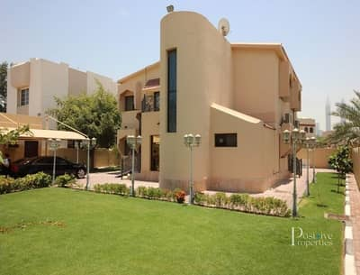 4 Bedroom Villa for Sale in Jumeirah, Dubai - 4 BR | G+1 Private Villa | Green Garden