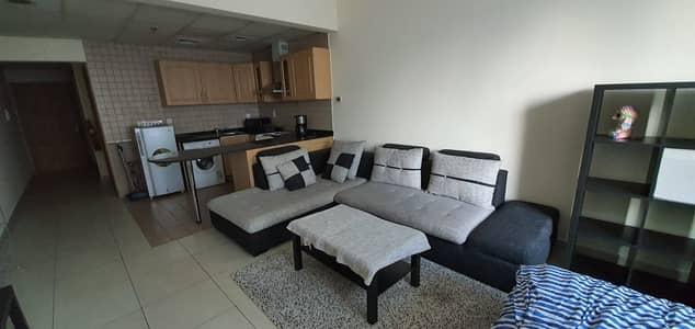 Studio for Rent in Jumeirah Lake Towers (JLT), Dubai - FOR RENT STUDIO  SEMI FURNISHED   ARMADA TOWER 3-JLT
