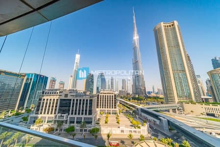 3 Bedroom Flat for Sale in Downtown Dubai, Dubai - Vacant| Biggest Middle 3Bed+Maid layout |Full view