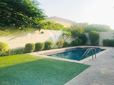 فیلا 3 غرف نوم للايجار في جميرا بارك، دبي - Upgraded | Vacant | Huge Plot with Private Pool