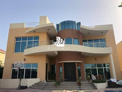 فیلا 6 غرف نوم للايجار في البرشاء، دبي - Elegant Modern 6Br  Villa For Rent In Barsha South 1