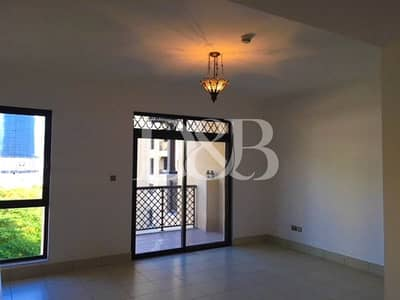 Studio for Rent in Old Town, Dubai - Unfurnished | Community View | Large Layout
