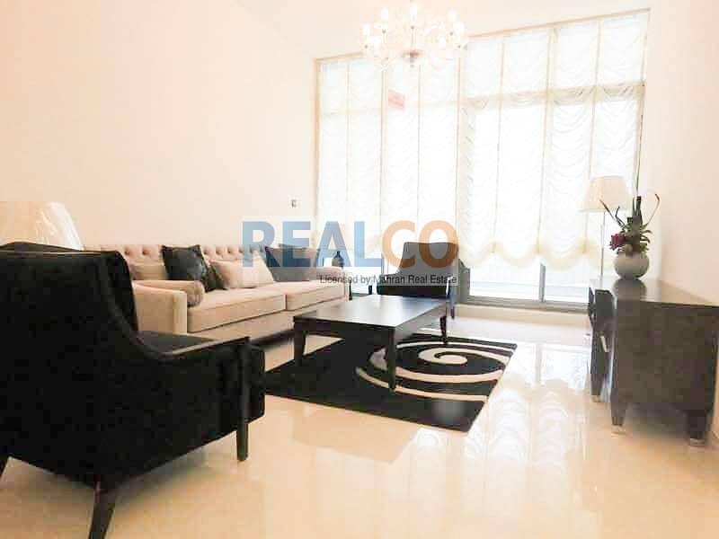   FULLY FURNISHED   2 BR+ MAID   VACANT  