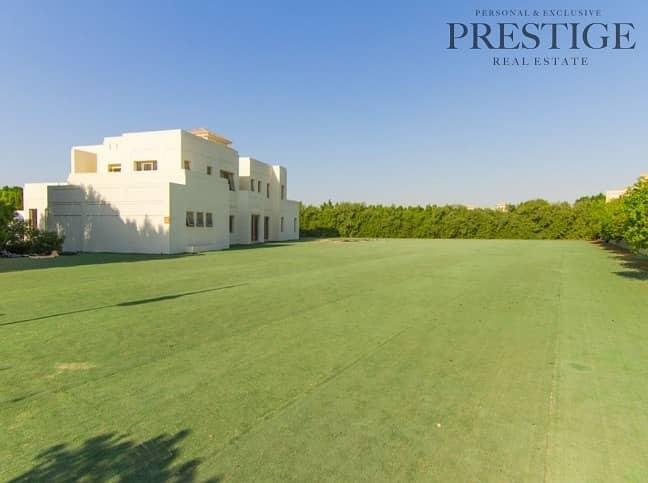 2 Big Plots | Luxury Community Al Barari | Water Front