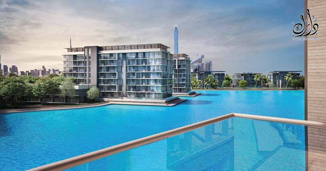 2 OWN AN APARTMENT WITH CRYSTAL LAGOON VIEW