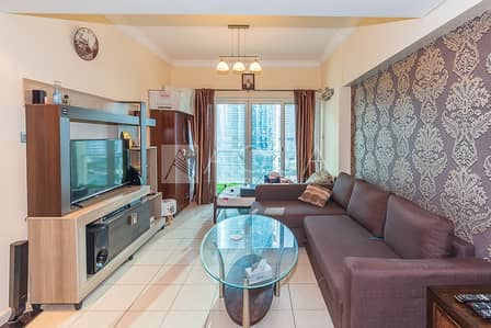1 Bedroom Apartment for Rent in Jumeirah Lake Towers (JLT), Dubai - Fully Furnished | 1BHK | Close to Metro