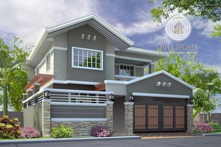 Amazing 9 MBR. Villa in Shakhbout City
