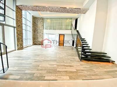 شقة 2 غرفة نوم للبيع في الخليج التجاري، دبي - Upgraded 2BR+M+S Duplex Loft Apartment High Floor