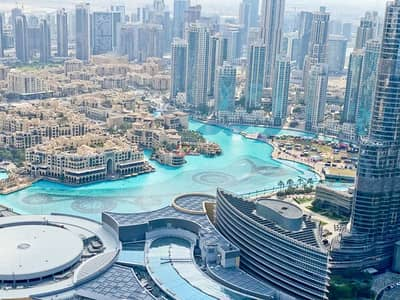 4 Bedroom Apartment for Sale in Downtown Dubai, Dubai - Furnished 4 Beds + Maids  Burj and  Fountain Views
