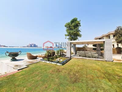 6 Bedroom Villa for Sale in Palm Jumeirah, Dubai - Exclusive Furnished High Number Upgraded-Extended