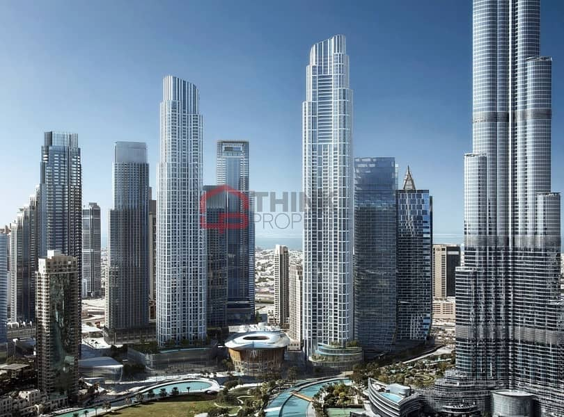 Luxurious 4BR Penthouse IL PRIMO EMAAR