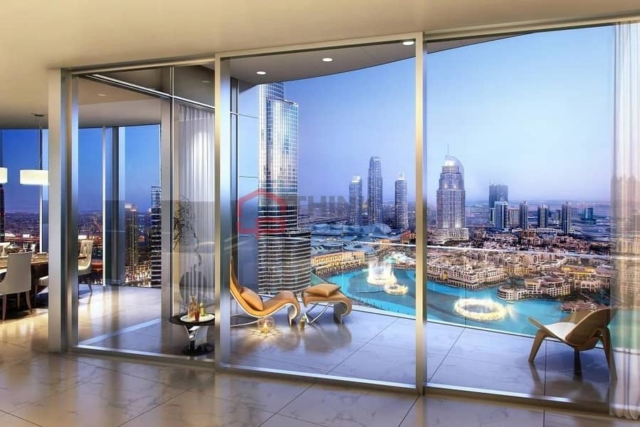 2 Luxurious 4BR Penthouse IL PRIMO EMAAR