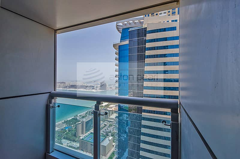 2 Sea View   Unfurnished  2BR   On High Floor