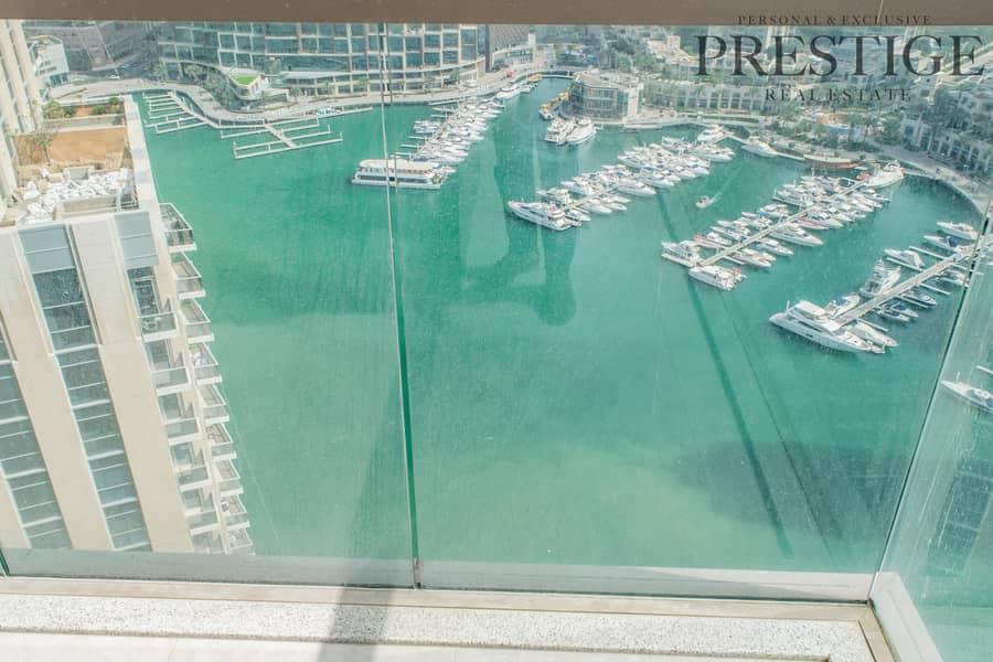 2 3 Bed with Full Marina View   Vacant