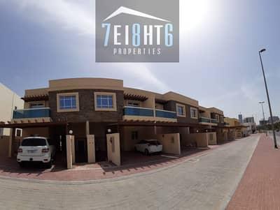 فیلا 4 غرف نوم للايجار في قرية جميرا الدائرية، دبي - Outstanding quality: 4 b/r semi-indep villa + maids room + large landscaped garden
