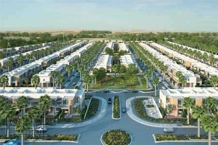 3 Bedroom Townhouse for Sale in Mohammad Bin Rashid City, Dubai - Single row best priced villa amazing quality and value