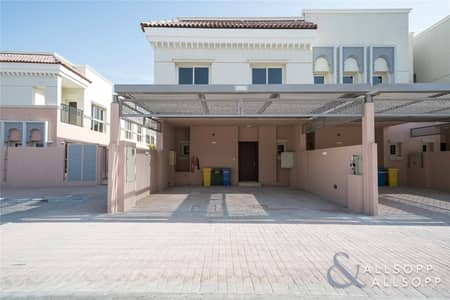3 Bedroom Townhouse for Sale in Jumeirah Golf Estate, Dubai - Three Bed Corner Townhouse | Plaza Backing