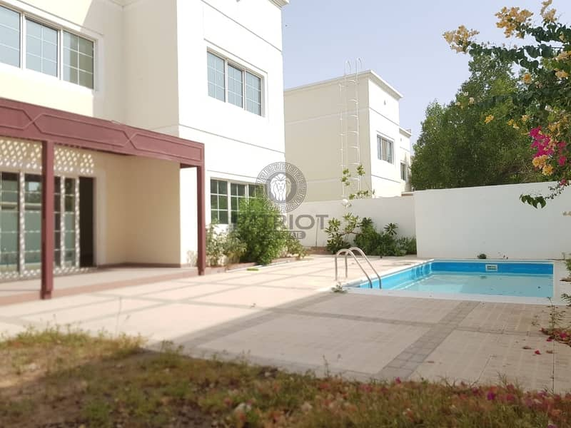 2 BEAUTIFUL UPGRADED 5 BEDROOM VILLA WITH PRIVATE POOL & GARDEN.