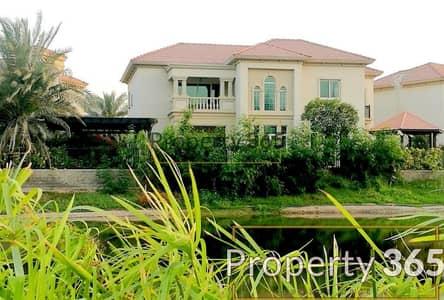 فیلا 4 غرف نوم للايجار في جزر جميرا، دبي - LAKE AND SKYLINE VIEW / PRIVATE POOL / 4 BEDS VILLA
