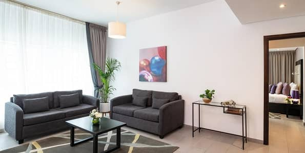 1 Bedroom Flat for Rent in Barsha Heights (Tecom), Dubai - All Utilities Included| Fully Furnished One Bedroom| Serviced Apartment
