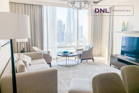 2 Bedroom Flat for Sale in Downtown Dubai, Dubai - Stunning View | Fully  Furnished | 2BR + Study