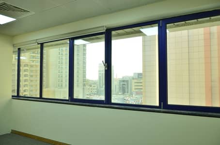Office for Rent in Bur Dubai, Dubai - HURRY!!! GRAB OUR SUMMER OFFER ! SPECTACULAR OFFICES FOR RENT IN BUR DUBAI NEAR AL FAHIDI METRO STATION