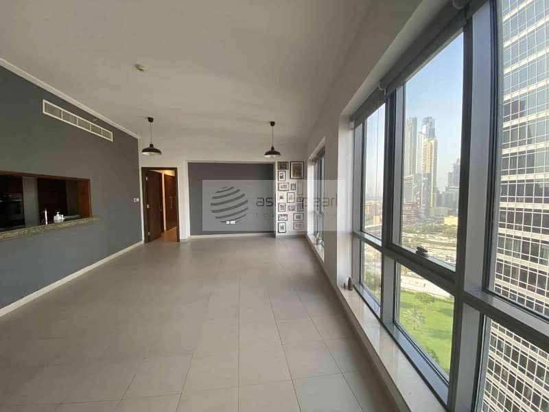 Unfurnished |1 Bedroom with Balcony | Chiller Free