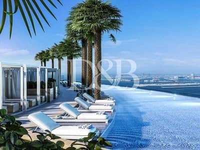 2 Bedroom Apartment for Sale in Jumeirah Beach Residence (JBR), Dubai - Full Sea View | Serviced Apartment | RARE Unit