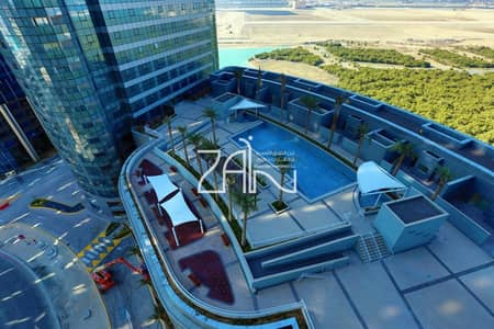 1 Bedroom Flat for Rent in Al Reem Island, Abu Dhabi - 4 Payments! Sea View 1 BR Apt High Floor with Facilities