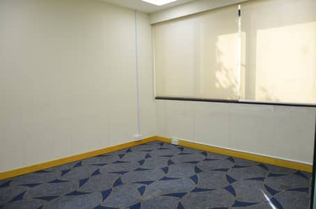 Office for Rent in Bur Dubai, Dubai - YEARLY OFFICE SPACE | Fully Fitted | BRAND NEW Office| Meeting Room| DEWA| WIFI
