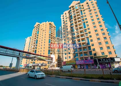 3 Bedroom Apartment for Rent in Ajman Downtown, Ajman - Modern 3 BHK | With Maids Room | Ready to Move In