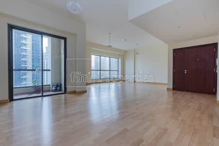 3 Bedroom Apartment for Sale in Jumeirah Beach Residence (JBR), Dubai - Full Marina View 3 Beds Upgraded Unit for Sale