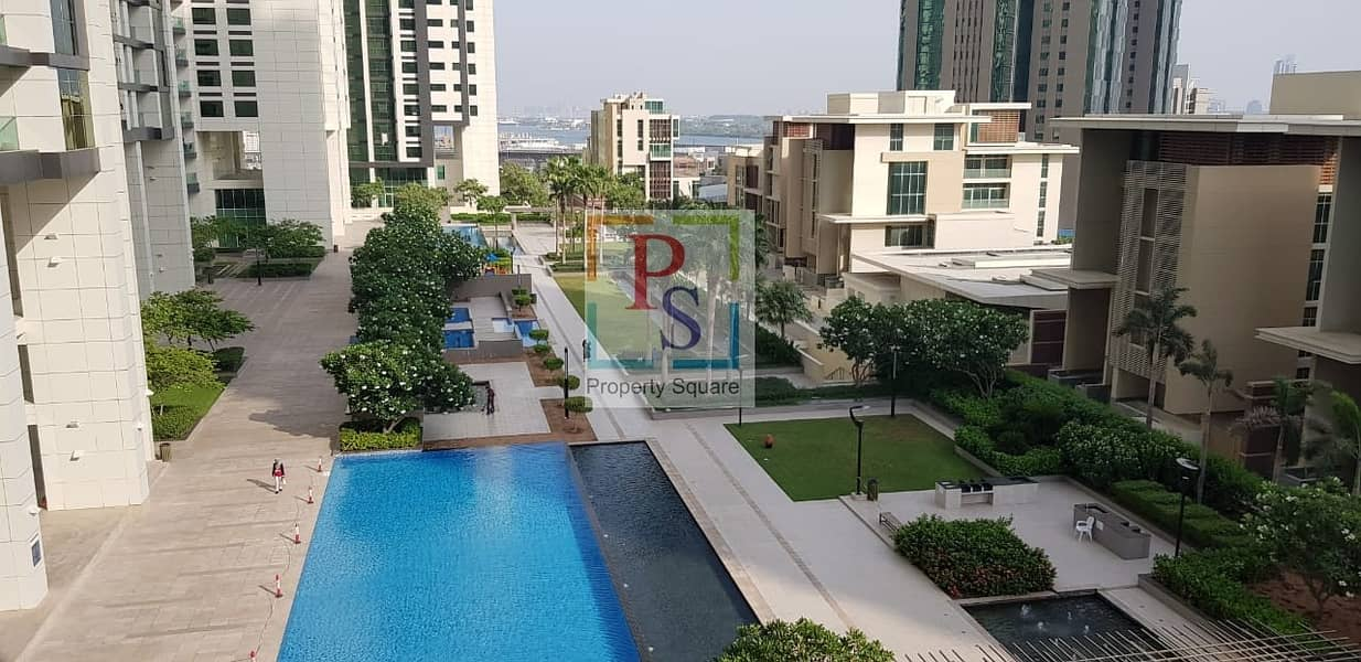 Ready to Move! 1BR Apt with Balcony Pool View