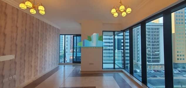 فلیٹ 1 غرفة نوم للايجار في الخالدية، أبوظبي - INCREDIBLE 1 BEDROOM.2 BATH.PARKING.GREAT LOCATION