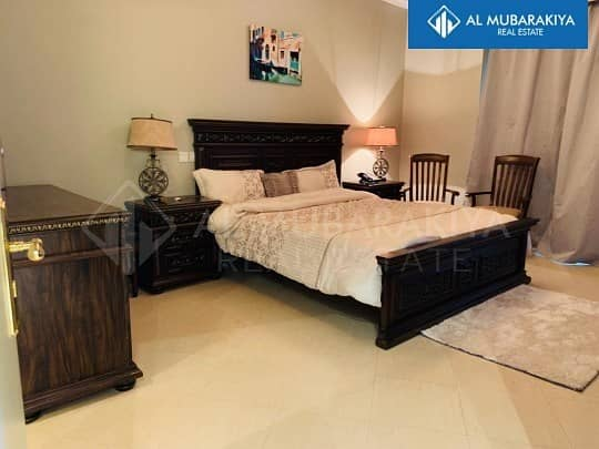 Fully Furnished 1BR included Water & Electricity