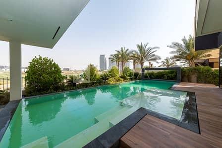 فیلا 5 غرف نوم للايجار في داماك هيلز (أكويا من داماك)، دبي - Amazing Upgraded 5 Bedroom Golf Villa