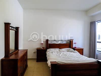 شقة 1 غرفة نوم للايجار في جميرا بيتش ريزيدنس، دبي - Large and Lovely Fully Furnished 1 BR | Move-In Ready | Prime Location