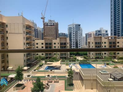 2 Bedroom Flat for Rent in The Greens, Dubai - Convenient | Most Huge 2BHK+Study | Pool View