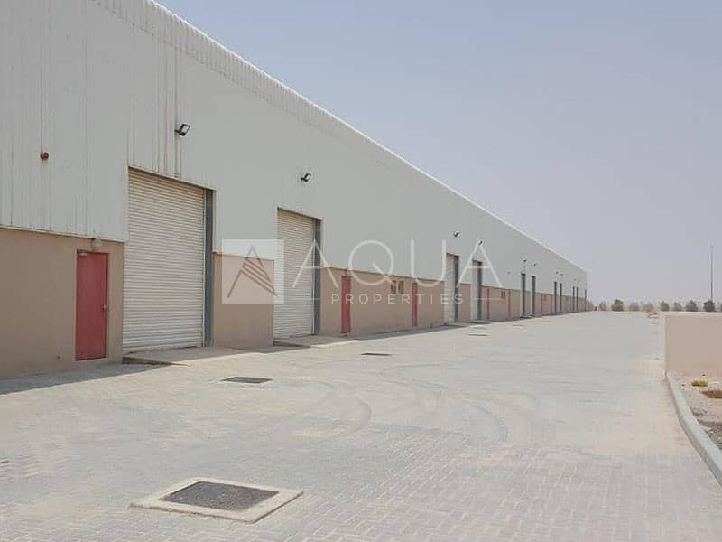 2 Brand New Warehouse | DIC | Insulated Unit