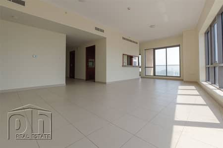 2 Bedroom Apartment for Rent in Downtown Dubai, Dubai - Outstanding Views | Largest Layout | Study | Must See