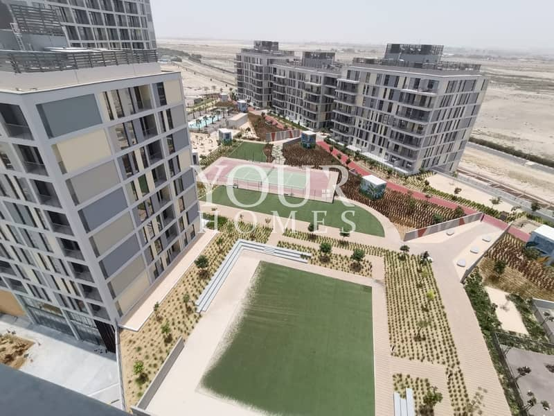 15 SM | New 1 Bed Apartment with Community View Afnan 4