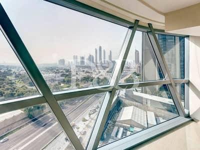 فلیٹ 2 غرفة نوم للبيع في مركز دبي المالي العالمي، دبي - PANORAMIC VIEWS | MID FLOOR | VACANT ON TRANSFER