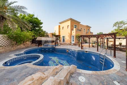 4 Bedroom Townhouse for Rent in Arabian Ranches, Dubai - | 4 Bed villa | Pool + Jacuzzi | Gymnasium |