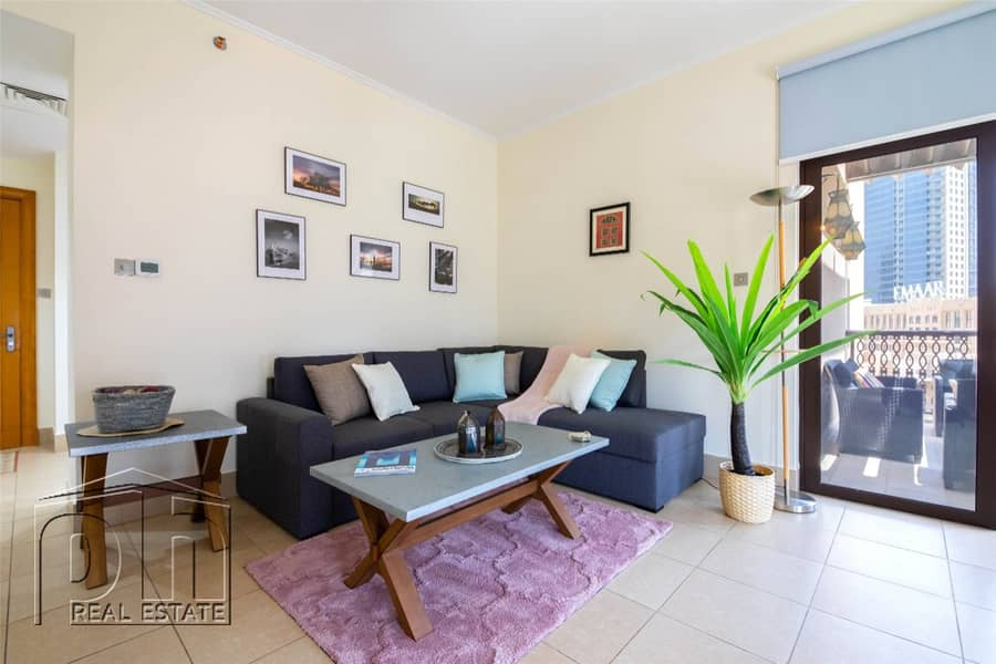 2 Stunning and Well Maintained | 2bed + Study | Pool View