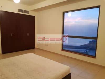 2 Bedroom Flat for Rent in Jumeirah Beach Residence (JBR), Dubai - Full Sea View from Master Bedroom